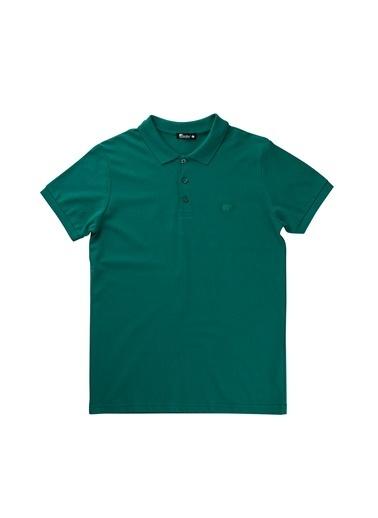 Bad Bear Erkek Basıc Pıque Polo Tişört 18.01.07.002 Yeşil